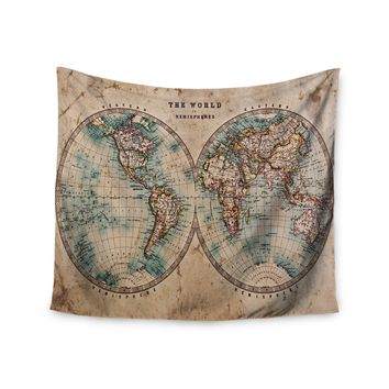 Shop world map tapestry on wanelo the split world map wall tapestry gumiabroncs Image collections