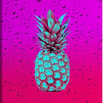 Pineapple Vision II Canvas Wall Art Print