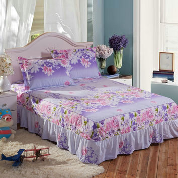 simple style shabby chic bed set