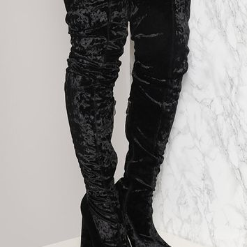 WICKED WOMAN OVER THE KNEE BOOT