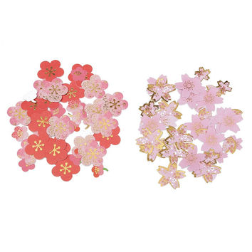 Cute Plum Flower Cherry Blossoms Diary Stickers DIY Scrapbooking Paper Wedding Hand Account Notebook Album Photo Art Decoration