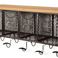 Linon Four Basket Wall Organizer