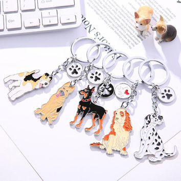 French Bulldog Pendant Key Chains