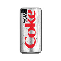 iPhone 5 Case - Geeks Funny Diet Coke, Best Seller iPhone Case, Black Case - Optional : White Case