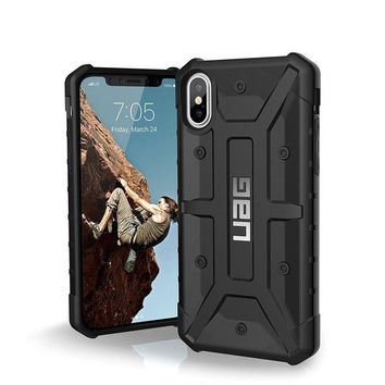 DCCKRQ5 UAG iPhone X Pathfinder Feather-Light Rugged [BLACK] Military Drop Tested iPhone Case