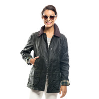 Barbour® Sage Beadnell Wax Jacket