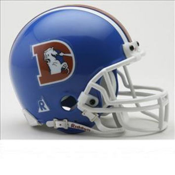 NFL Mini Replica Throwback Helmet - Broncos 75-96