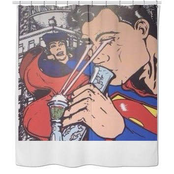 Superburn Shower Curtain