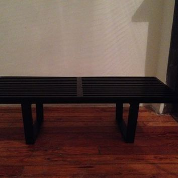 George Nelson Bench Coffee Table Mid Century dwr