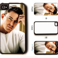 Channing Tatum 2 n-Sert iPhone 4, 4s, 5 Case with Changeable Inserts