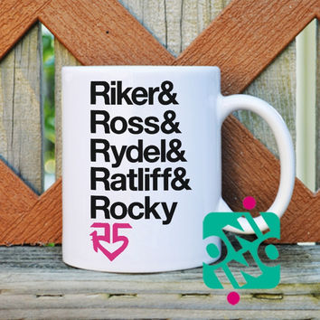 R5 Band Coffee Mug, Ceramic Mug, Unique Coffee Mug Gift Coffee