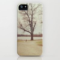 Lake iPhone & iPod Case by Julie Jacquinot