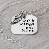 With Wings She Flies