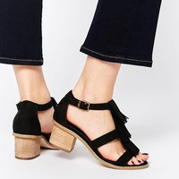 ASOS TREASURE Wide Fit Heeled Sandals at asos.com