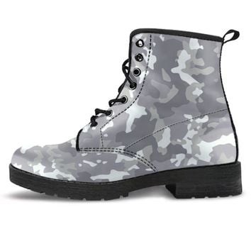 Snow Camouflage Boots
