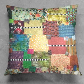 Ethnic Quilt Pillow
