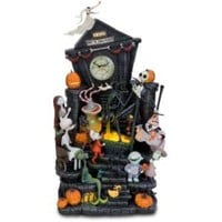 Tim Burton's The Nightmare Before Christmas Clock