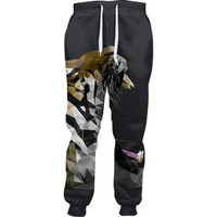 Abstract Roar Joggers