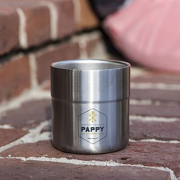 Stainless Steel Insulated Rocks Glass by Pappy & Company