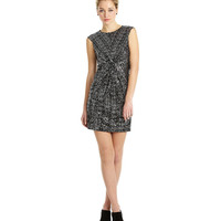 Vince Camuto Knot-Front Sequin Dress | Dillards.com