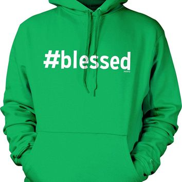 #blessed Hooded Sweatshirt, NOFO Clothing Co.