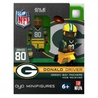 NFL Green Bay Packers Donald Driver Green Jersey Figurine