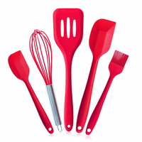 5Pcs/Set Practical Kitchen Silicone Pastry Tools