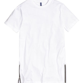 T-shirt with Zips - from H&M
