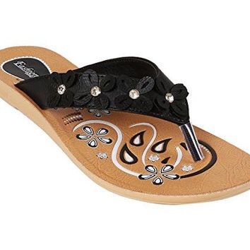 Women Sandals Flip Flops amp Stylish Flats Slides for Formal Casual amp Comfortable Everyday Use