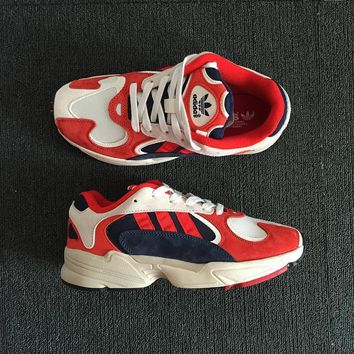 Adidas Yung White Red Navy Men Sneaker de5ca6d1ea7f