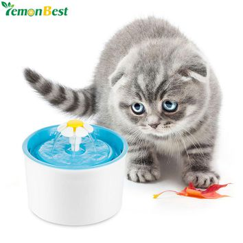 fontaine boisson Dog Cat Water Automatic Pet Water Drinking Fountain For Cat Dog Automatic Food Bowl Pet Feeder Water Dispenser