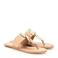 aerin - pearce embellished leather sandals