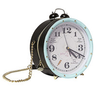 BETSEY JOHNSON Alarm Clock Purse