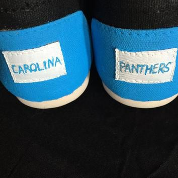Custom Shoes - Carolina Panthers - Toms, Vans, Converse