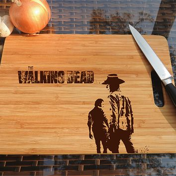 ikb569 Personalized Cutting Board series walking dead fan gift design board