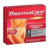 Thermacare Therapeutic Heat Wraps, Menstrual Cramp Relief - 3 Each - Walmart.com