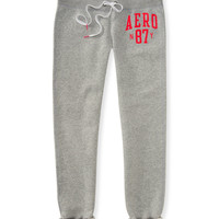 Aeropostale  Aero NY87 Classic Cinch Fleece Sweatpants