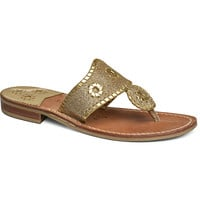 Jack Rogers Sparkle Sandal- Gold- FINAL SALE