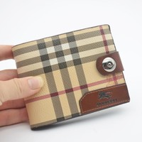 Burberry Fashionable Men Leather Wallet Purse