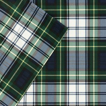 Premier Comfort Softspun Regiment Plaid Sheet Set - Twin