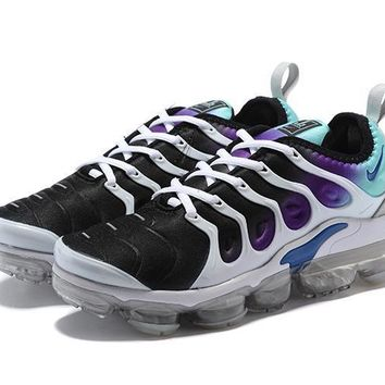 Nike Air Vapormax Plus Triple White Running Sneakers Sport Shoes-34
