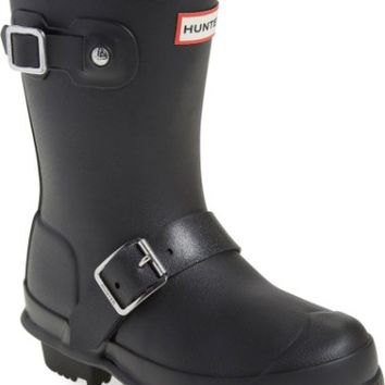 Hunter 'Original Biker' Waterproof Rain Boot (Toddler, Little Kid & Big Kid) | Nordstrom
