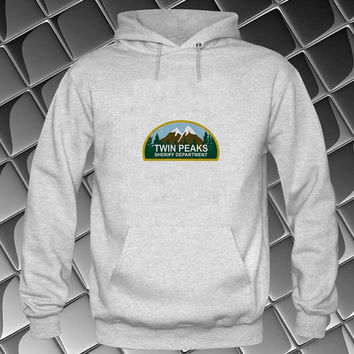 twin peaks Hoodies Hoodie Sweatshirt Sweater white and beauty variant color Unisex size