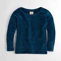 Girls Oversized Chenille Sweater | Girls New Arrivals | HollisterCo.com