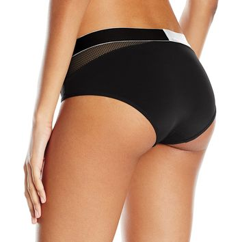 Calvin Klein Women's Standard Id Fashion Men's Hook up Micro Hipster Panty