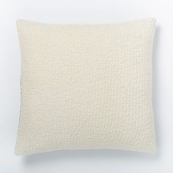 Cozy Boucle Pillow Cover - Ivory