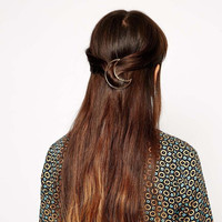 Contracted Moon Sweet Hairpin
