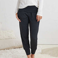 Aerie Real Soft® Jogger Pant, Charcoal Heather