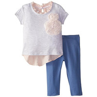 Pippa & Julie Outfit Set Baby Girl Pant Outfit