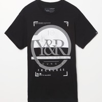 Young & Reckless Spot On T-Shirt - Mens Tee - Black